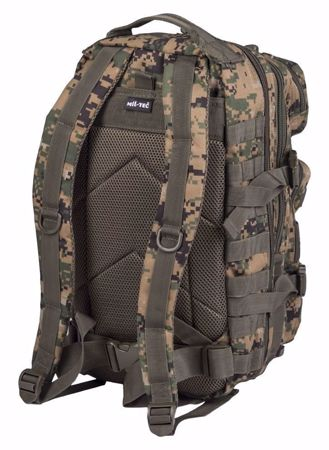 Mil-Tec Backpack US Assault Pack Small Digital Woodland