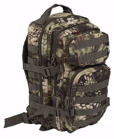 Mil-Tec Backpack US Assault Pack Small Mandra Wood