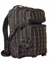 Kombat Small MOLLE Assault Pack Black & Yellow