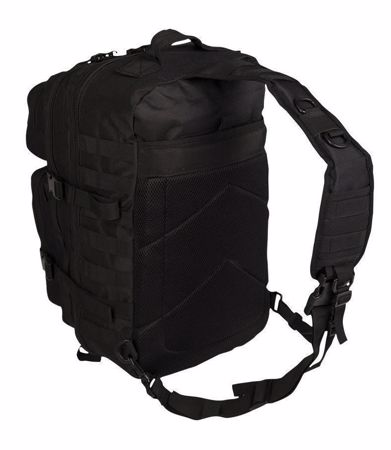 Mil-Tec Black One Strap Assault Pack