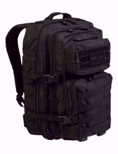 Black Backpack US Assault Pack Large