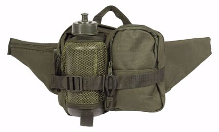 Fanny Pack with Bottle Olive
