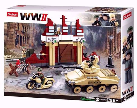WWII Serie Battle Of Stalingrad M38-B0696