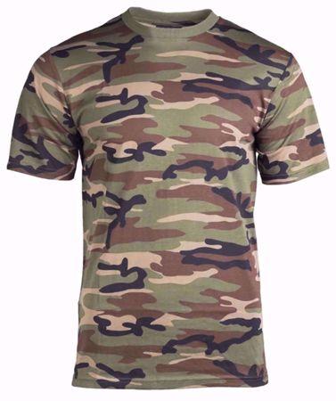 Mil-Tec Woodland T-Shirt