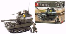 Building Blocks Army Serie Tank - M38-B0282