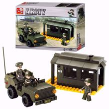 Building Blocks Army Serie Outpost - M38-B6100