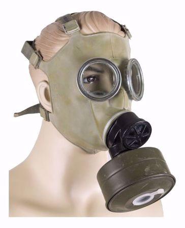 Polish MC-1 Gas Mask Respirator With Filter And Bag