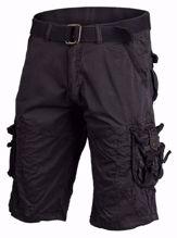Mil-Tec Vintage Survival Shorts Prewash Black