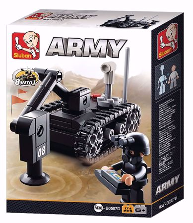 Building Blocks Army Serie Minesweeper Sluban M38-B0587D
