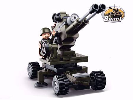 Building Blocks Army Serie Artillery Sluban M38-B0587E