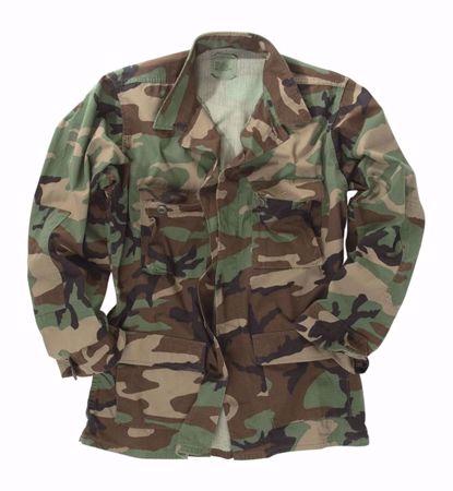 US Woodland BDU Field Jacket