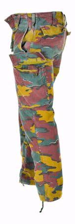 Belgian Army M90 Field Trousers Jigsaw Camo