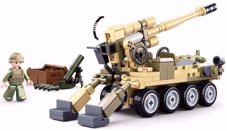 8X8 Mobile Cannon M38-B0751 Sluban