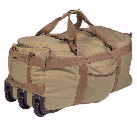 Mil-Tec Combat Duffle Bag with Wheel