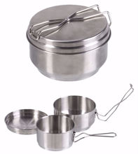 Czech 2 Pieces Stainless Steel Mess Kit
